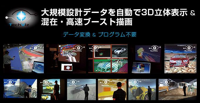 TechViz DMUデジタルモックアップ